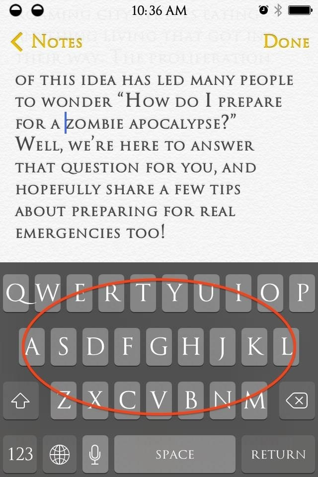 A Better Way to Select & Edit Text on Your iPhone