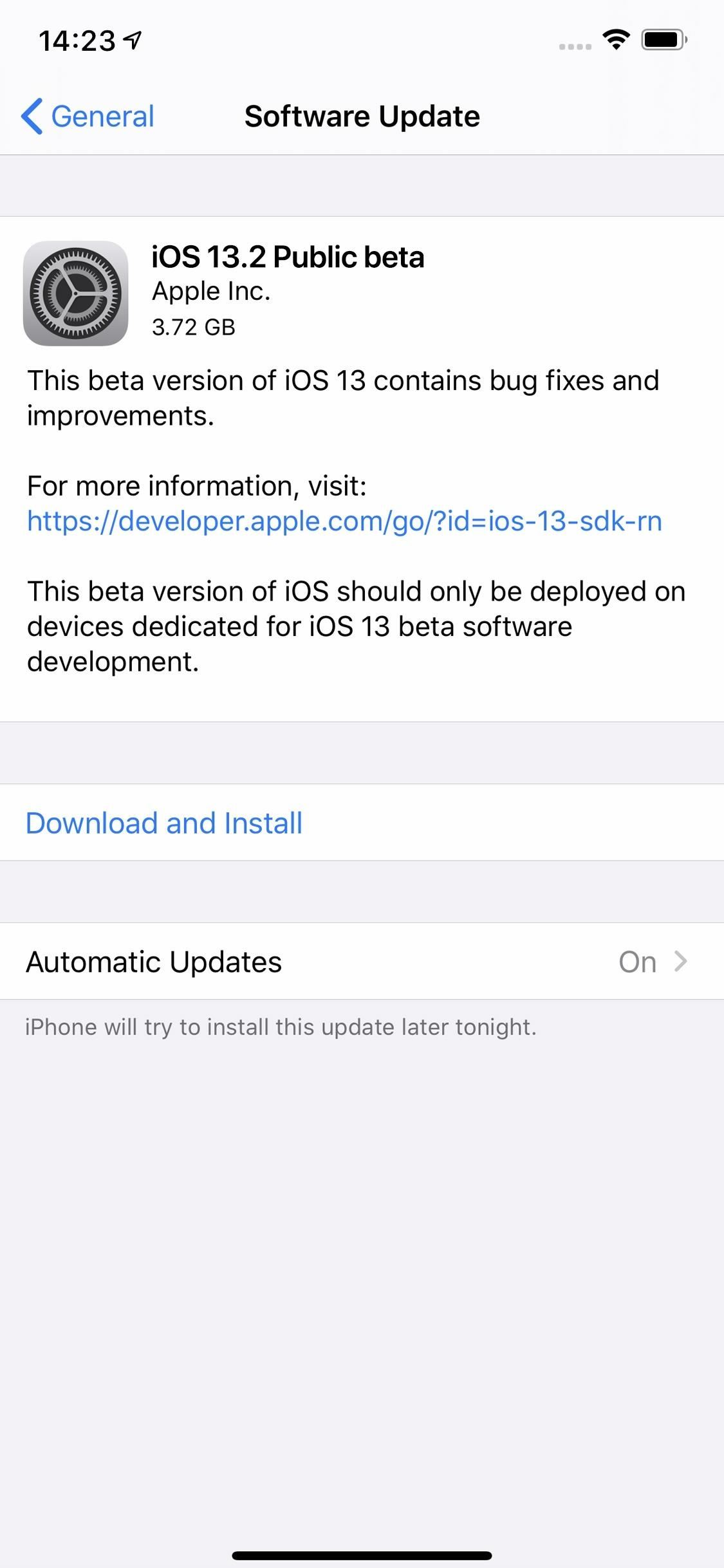 How to Download & Install iOS 13.2 Beta on Your iPhone Right Now