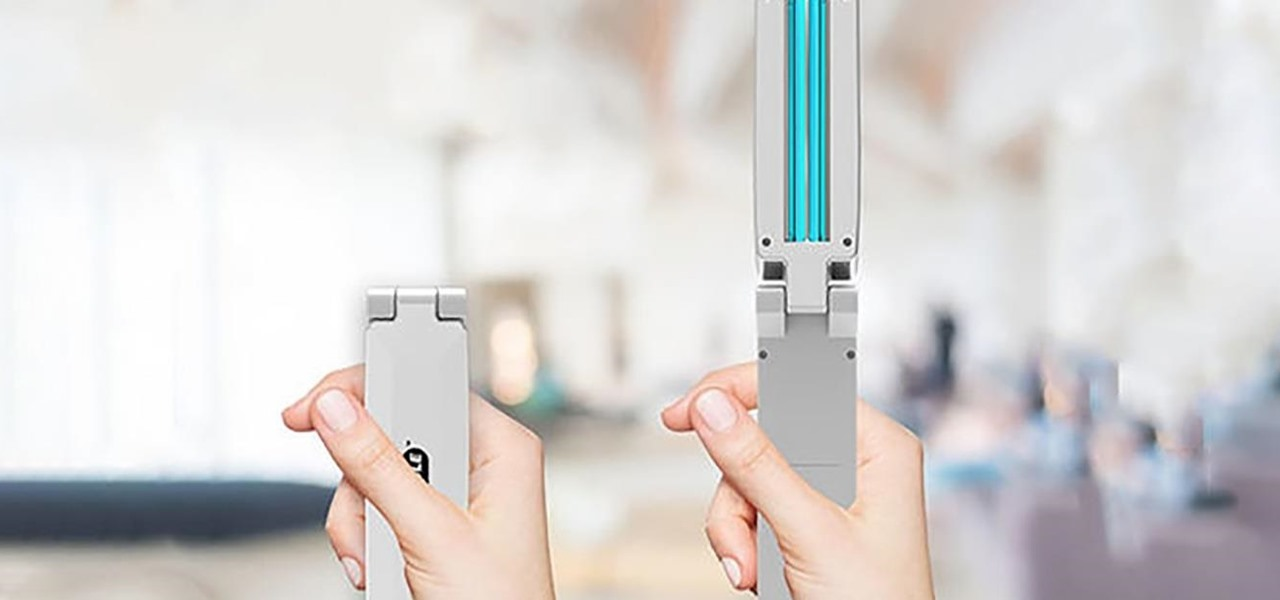 This Sanitizing Wand Is Perfect for Stopping Germs on the Go