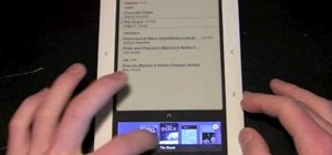 Navigate your Nook e-reader