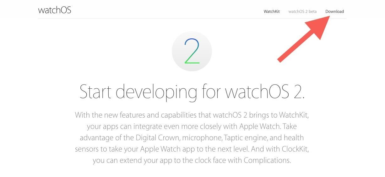 How to Get watchOS 2 Beta on Your Apple Watch Right Now