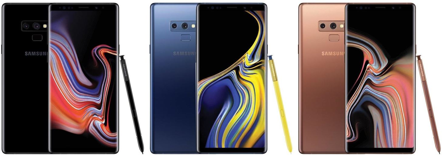 Leaks & rumors about Samsung's forthcoming Galaxy Note 9