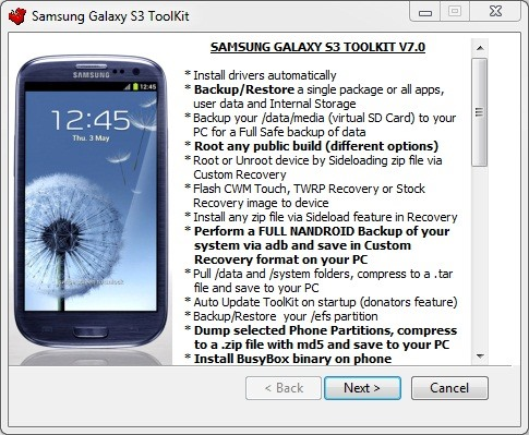 How to Completely Back Up Your Samsung Galaxy S3 Using Windows