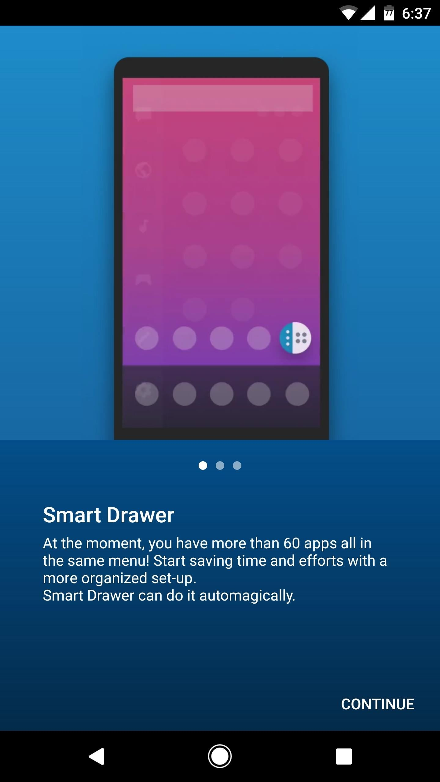 Add a Smart App Drawer to Any Launcher & Get Automatic Sorting Features