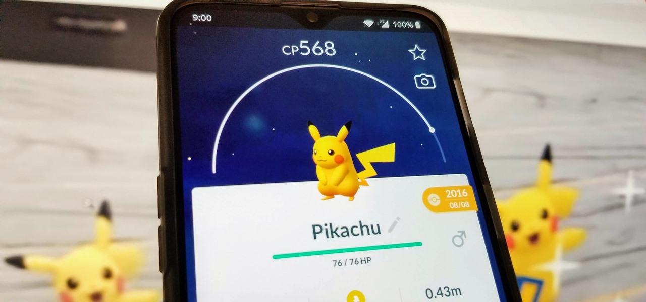 Play Pokémon GO in Fullscreen on Your OnePlus 6T