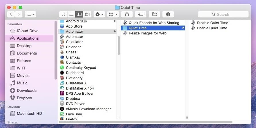 Automatically Disable Distractions on Your Mac for a