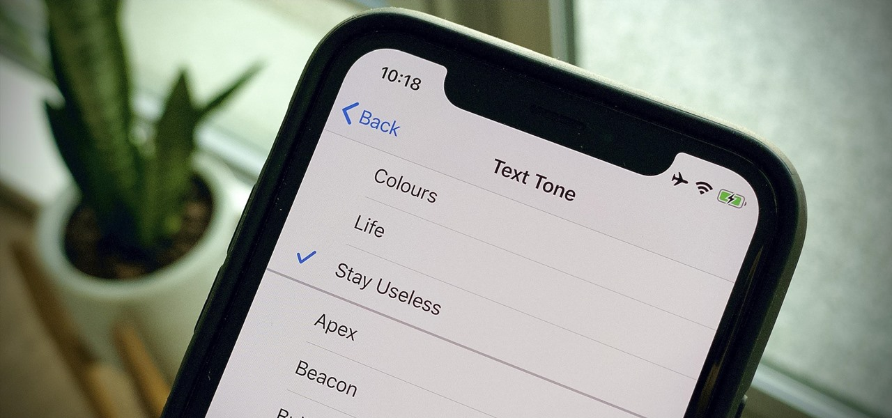 Create Custom Text Tones for Your iPhone Using macOS 10.15 Catalina