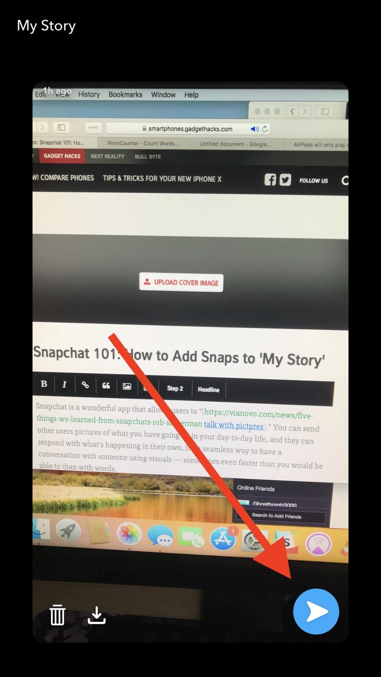 Accidentally Post to Your Snapchat Story? Here's How to Delete It