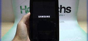 Reset the Samsung Galaxy Tab to its factory Android settings