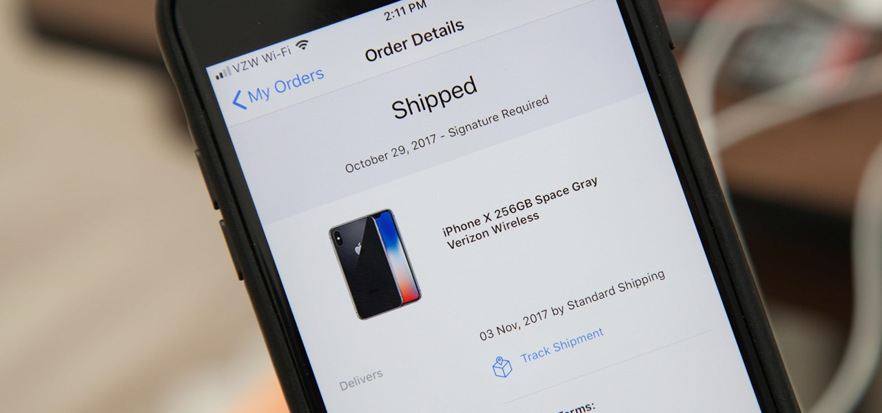 Your iPhone X May Have Shipped (Even if You're Not Expecting It To)