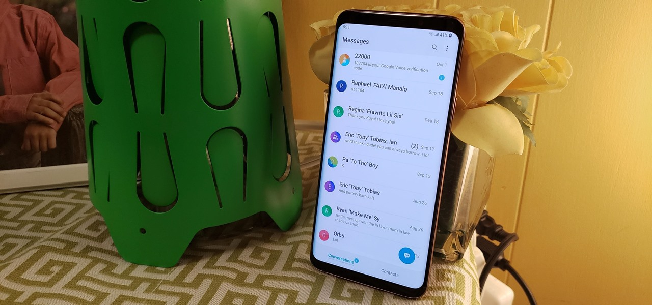 Here's What's New with Samsung's Messages App in One UI