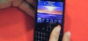 Get started using a Blackberry Curve 3G 9330 smartphone