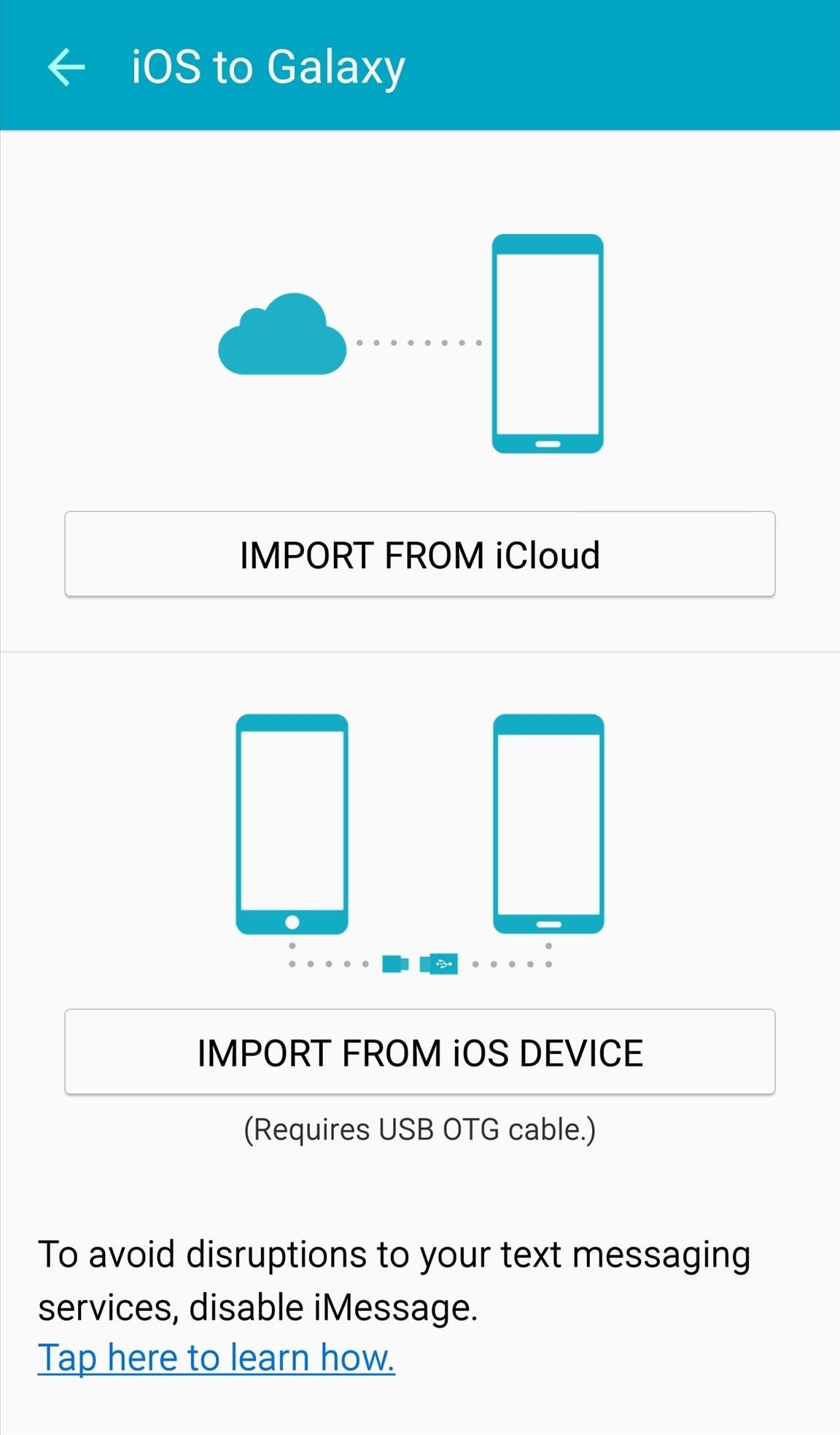 How to Easily Transfer Everything from an iPhone to a Samsung Galaxy