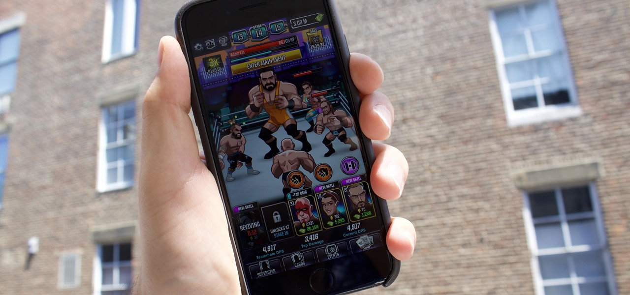 WWE Tap Mania Drives Game Reviewer to Brink of Madness