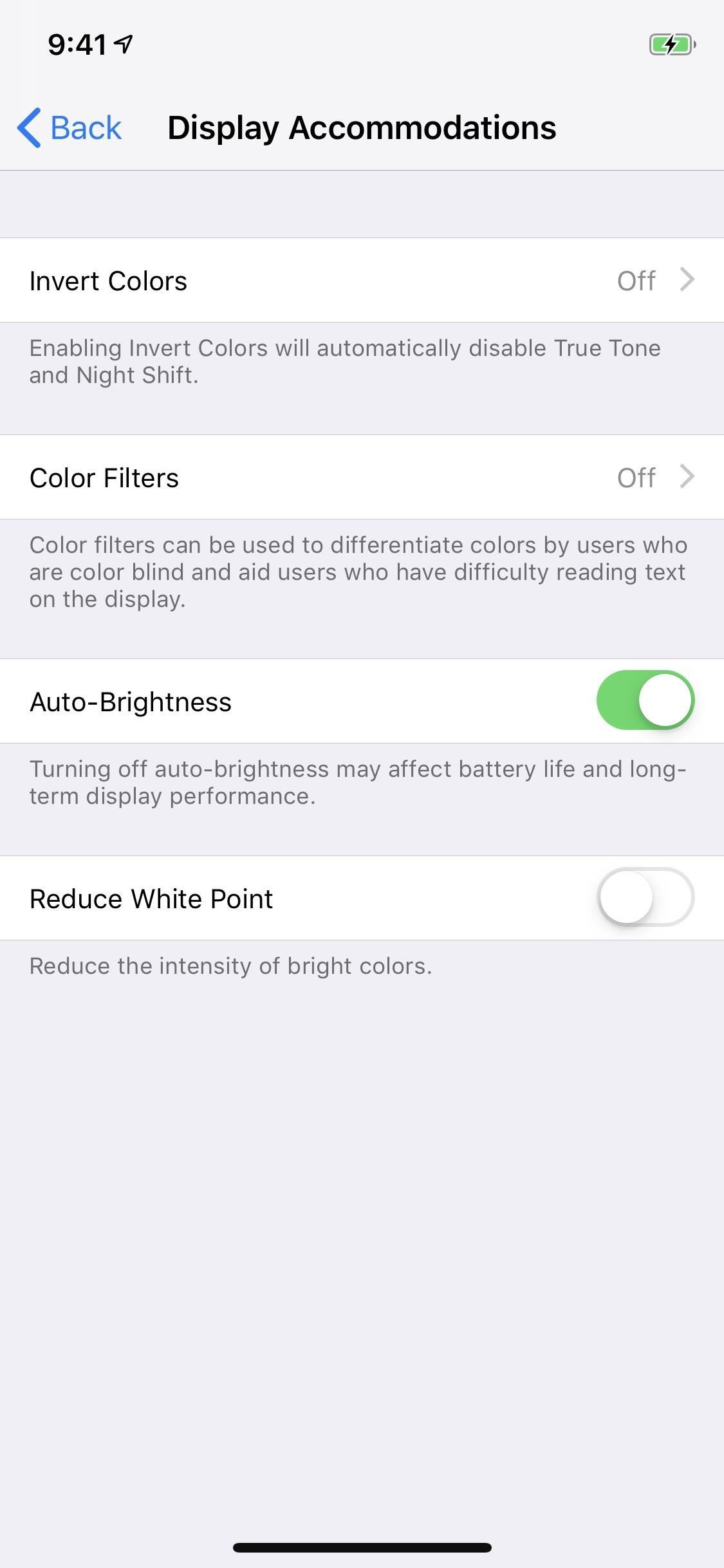 How to Turn Your iPhone's Auto-Brightness Off in iOS 12