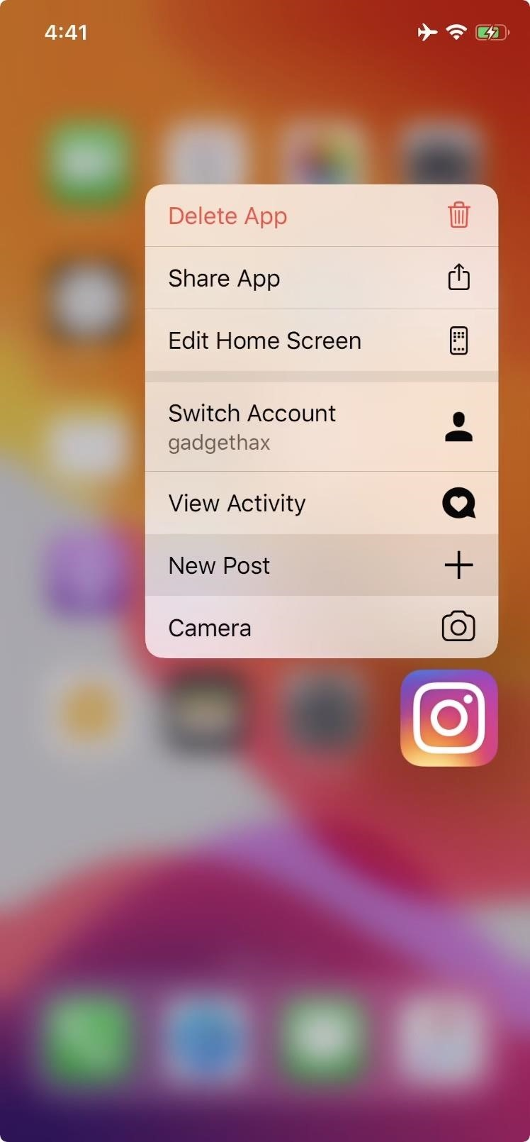 With this trick you can start a new Instagram post in just 1 tap