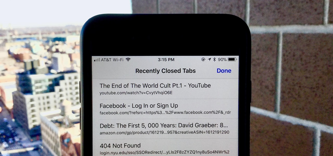 How to Open a Recently Closed Tab Without Digging Through Your Browser History
