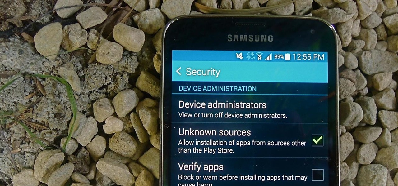 "Enable ""Unknown Sources"" So You Can Download Third-Party Apps to Your Galaxy S5"