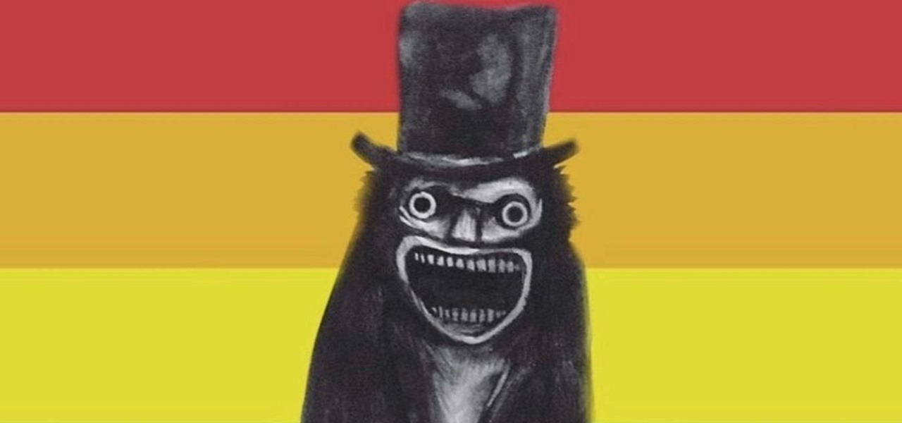 Babadook Dresses Up for Pride