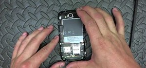 Replace the glass digitizer on an HTC My Touch Android phone