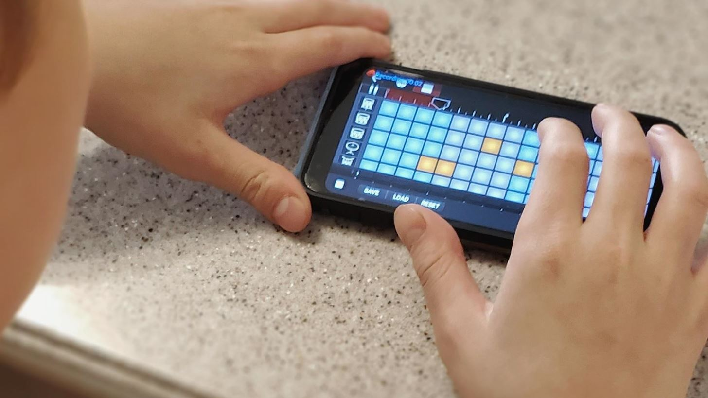 GarageBand changed the interaction of my autistic son with the world.