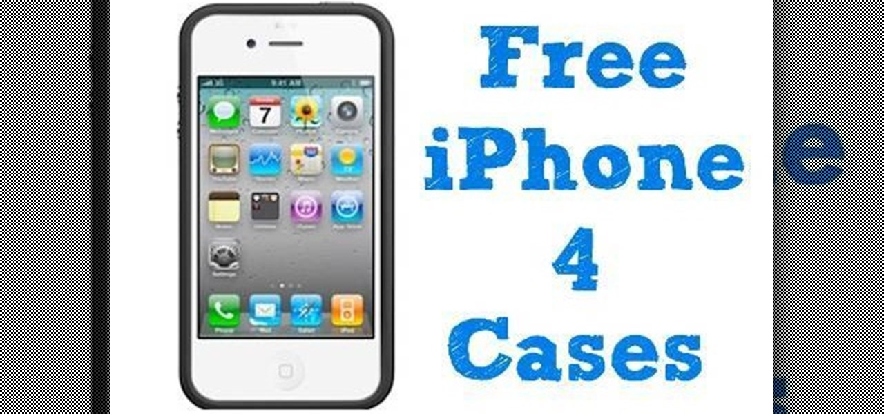 the latest 7c4f9 a0c1c How to Get your free iPhone 4 bumper case « Smartphones :: Gadget Hacks