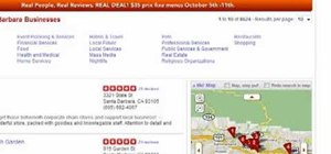Save multiple locations in Yelp