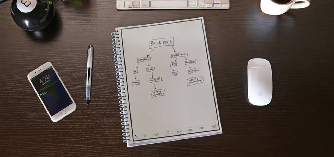 This Smart Paper Notepad Saves Everything You Write on It