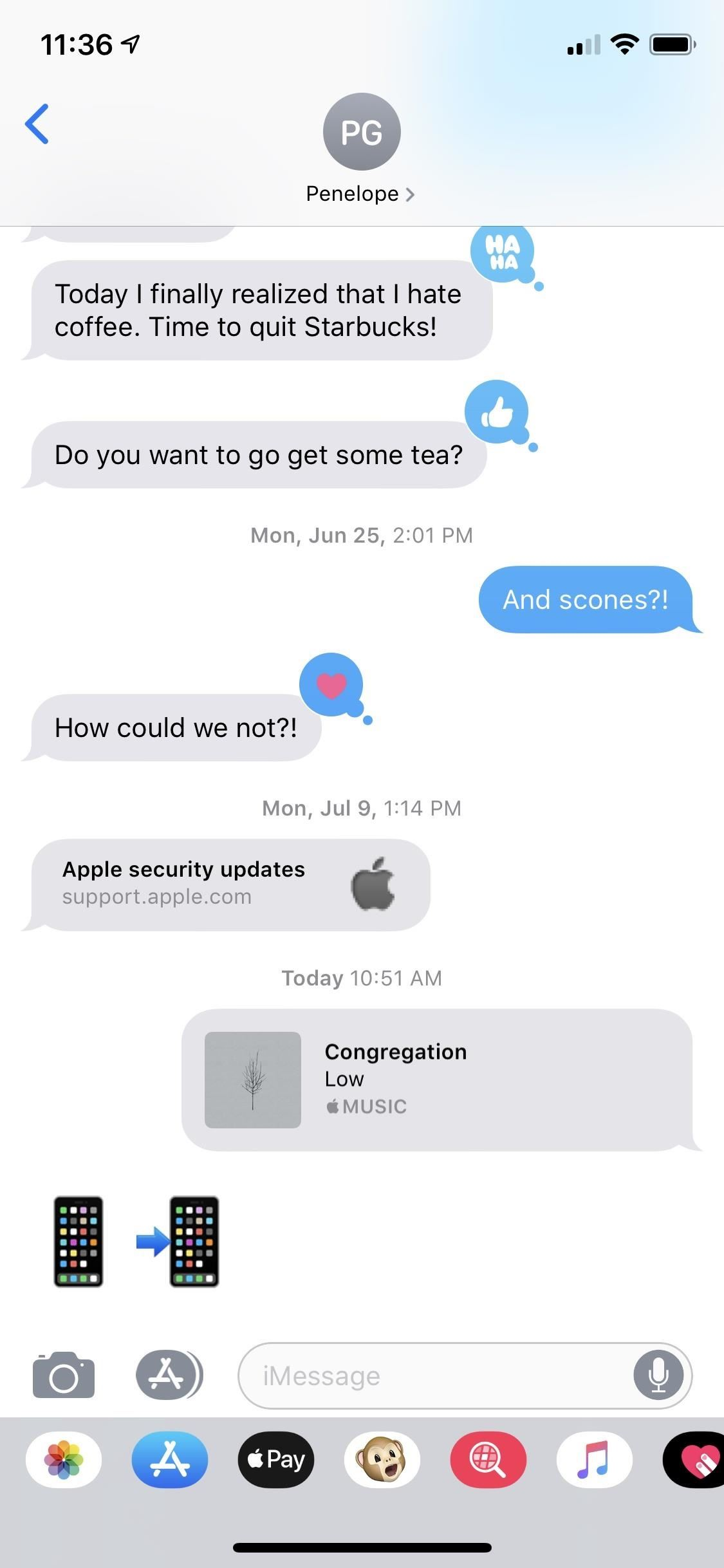 How to Remove the Bottom App Drawer in the iOS Messages App