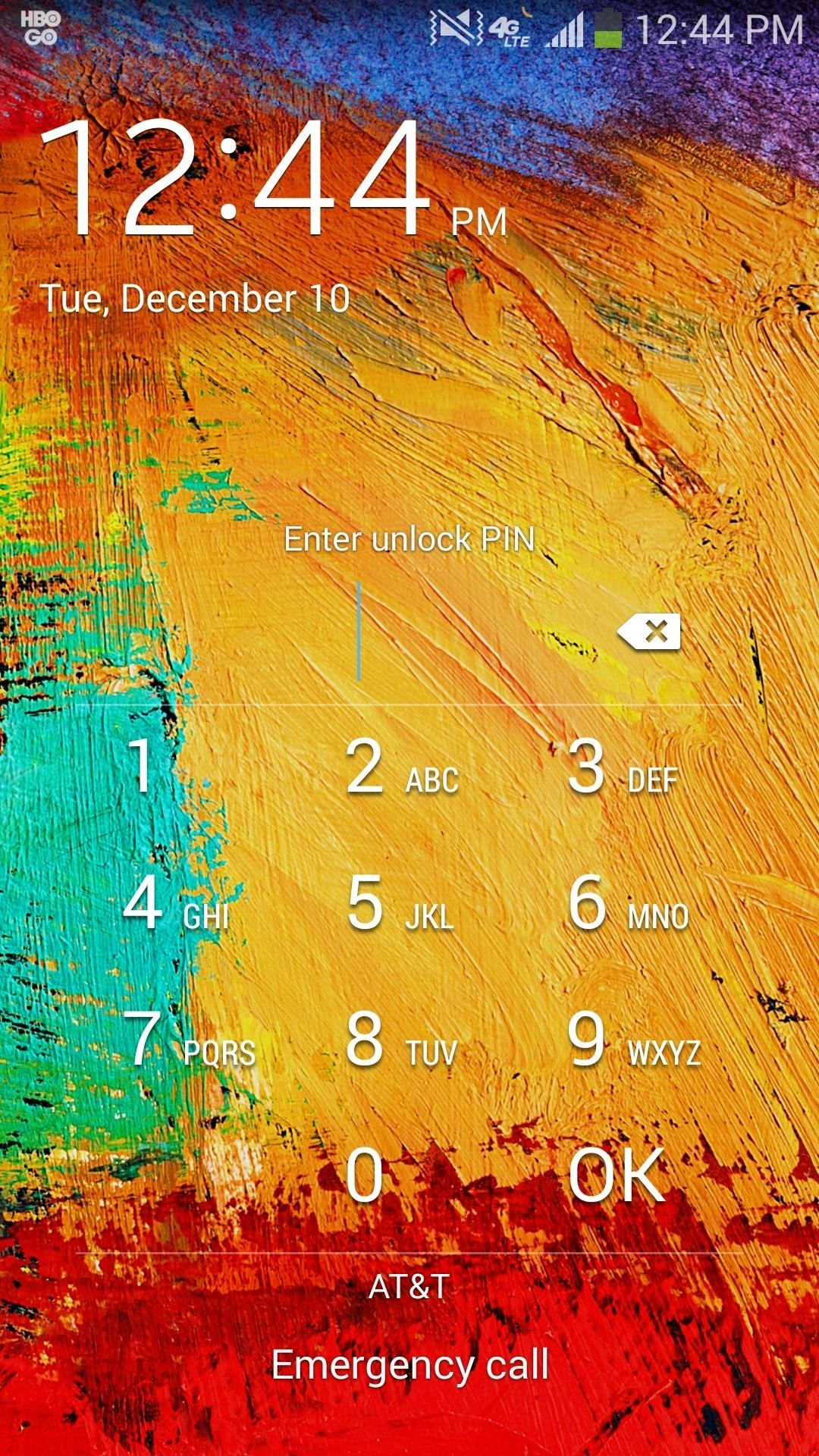 How to Skip Lock Screen Security on Your Samsung Galaxy Note 3 When Using Trusted Networks