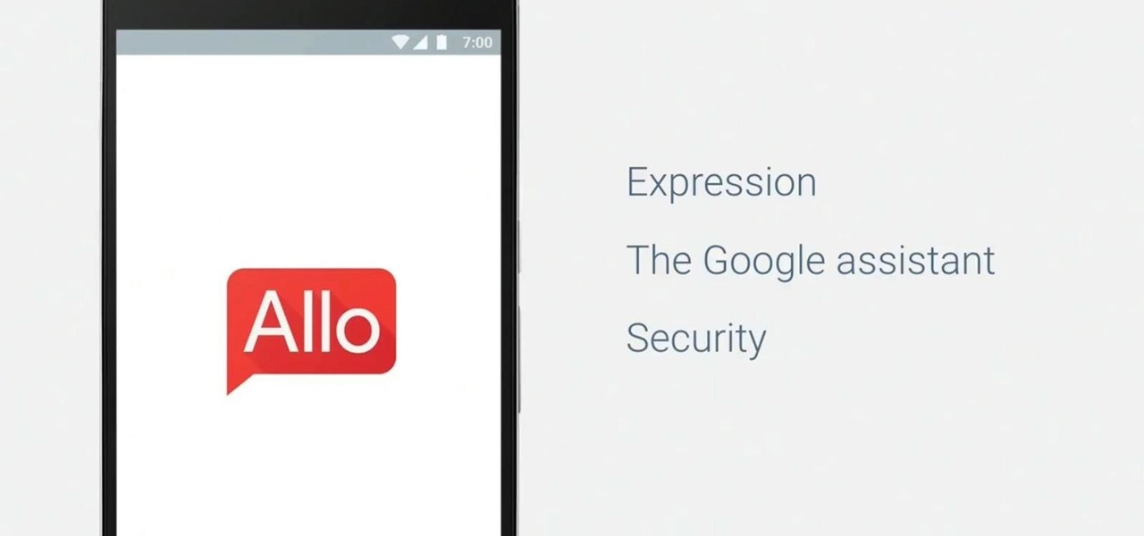 Google's Allo Seems to Leak Search & Location History in Chats
