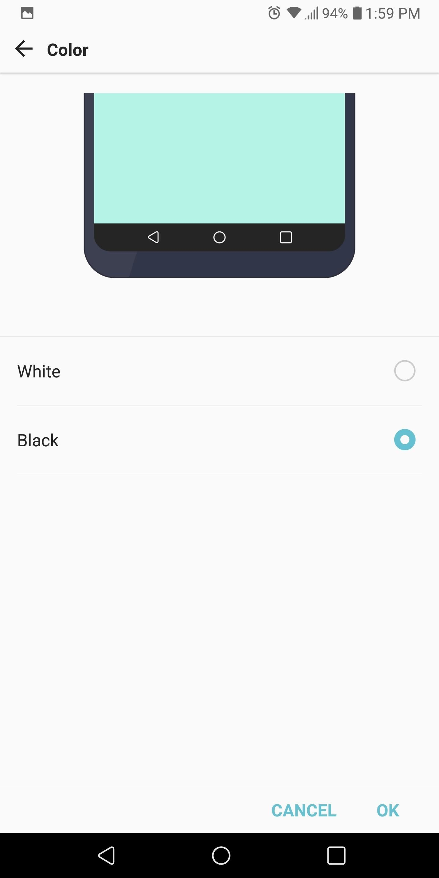 How to Customize the Navigation Buttons on Your LG V30