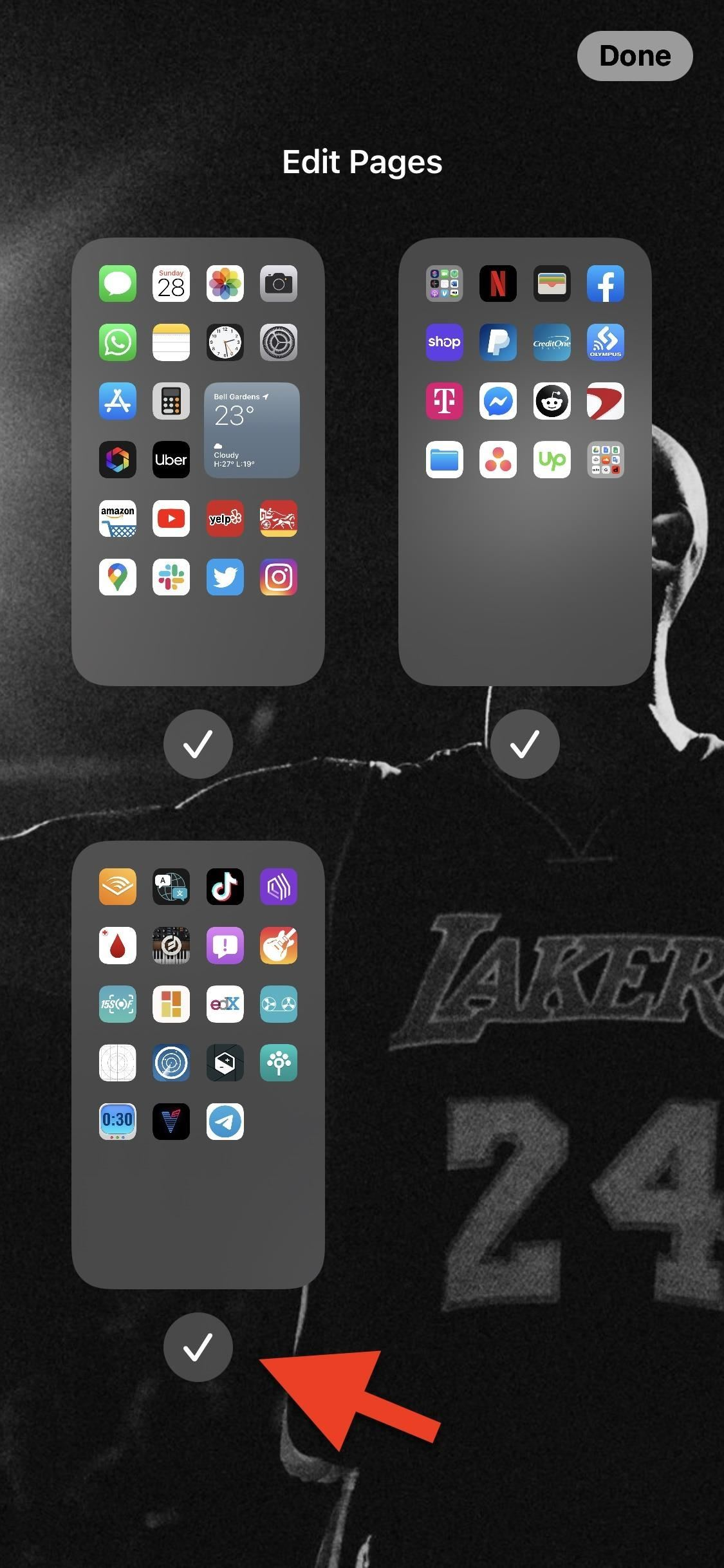 How to Hide Entire Home Screen Pages on Your iPhone in iOS 14