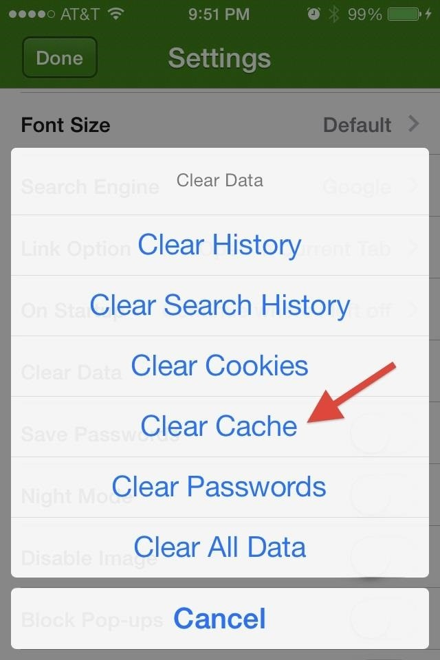how to clear iphone cache clear spotify cache iphone picture the 5 secrets that 17120