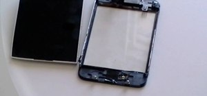 Replace the glass digitizer on the iPhone 3G