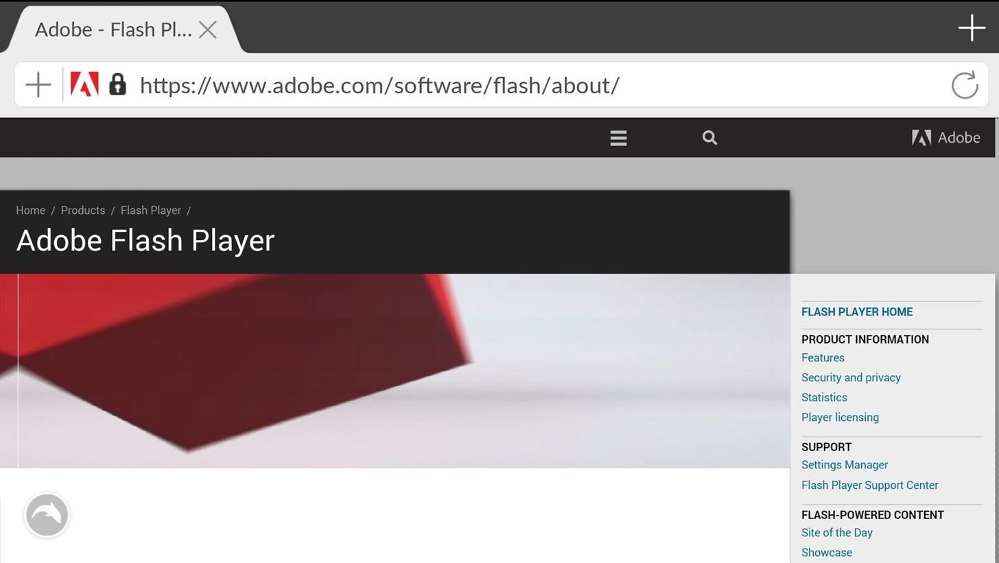 How to install and enable adobe flash player support Install adobe flash