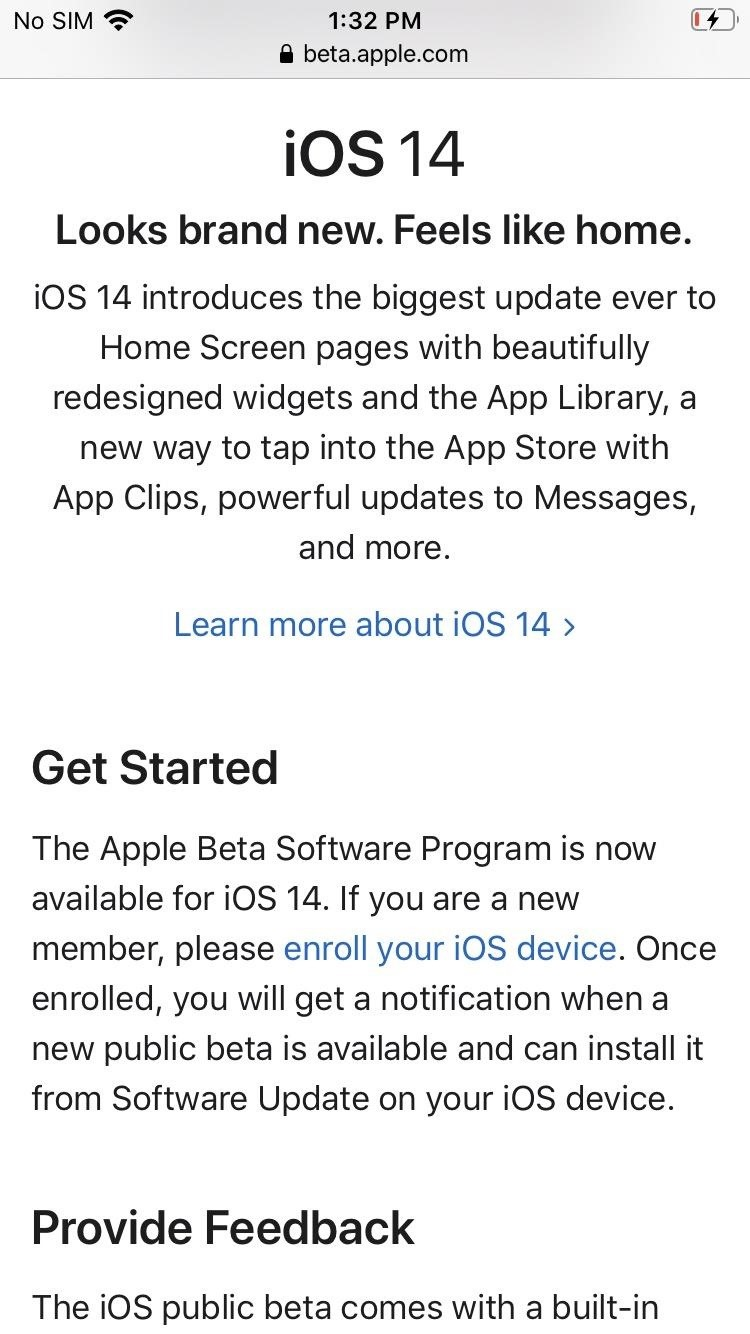 How do I download and install iOS 14 GM (Golden Master) on your iPhone