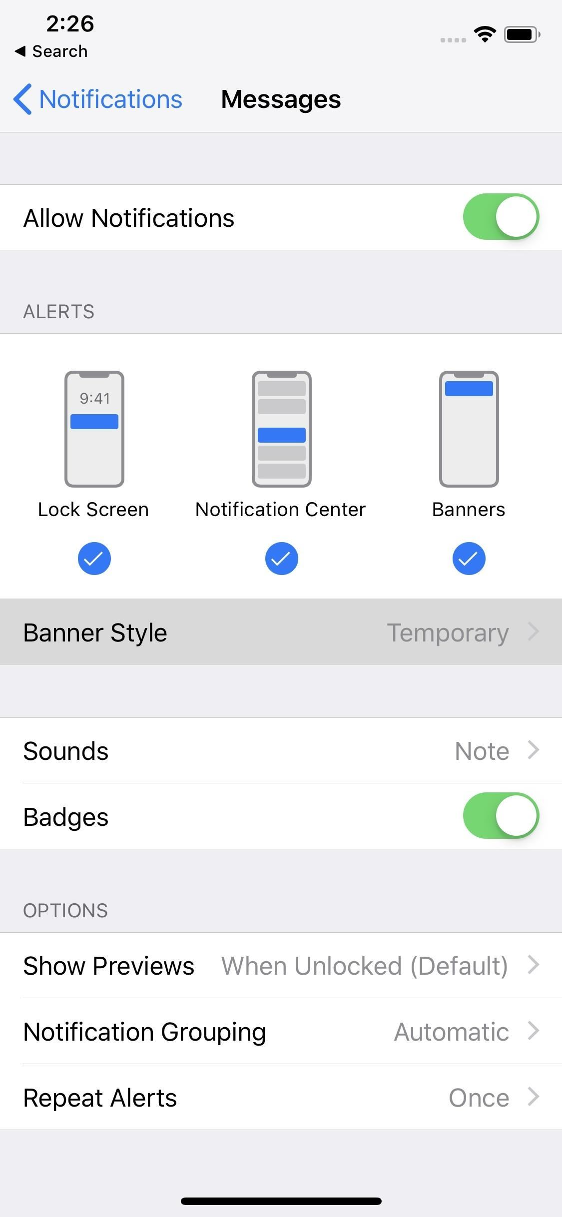 How to Set Persistent Notifications for Apps on Your iPhone « iOS