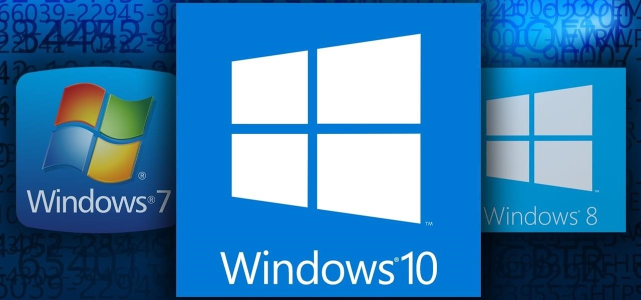 Activate Windows 10 with a Windows 7 or 8 Product Key