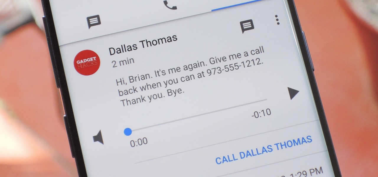 How To: Set Up Google Voice to Get Visual Voicemail on Your Unlocked Android Phone