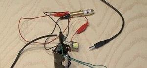 Make a simple laser communicator