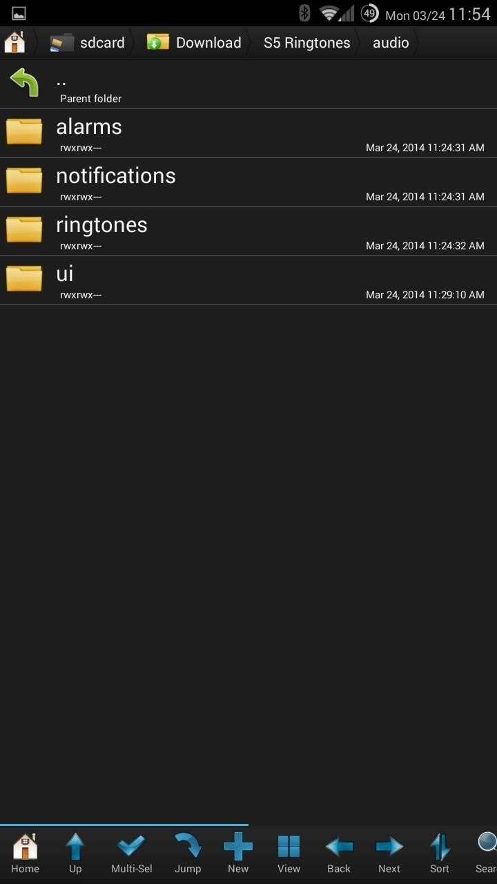 How to Install the Samsung Galaxy S5's New Ringtones on Your Galaxy S3 or Other Android Device