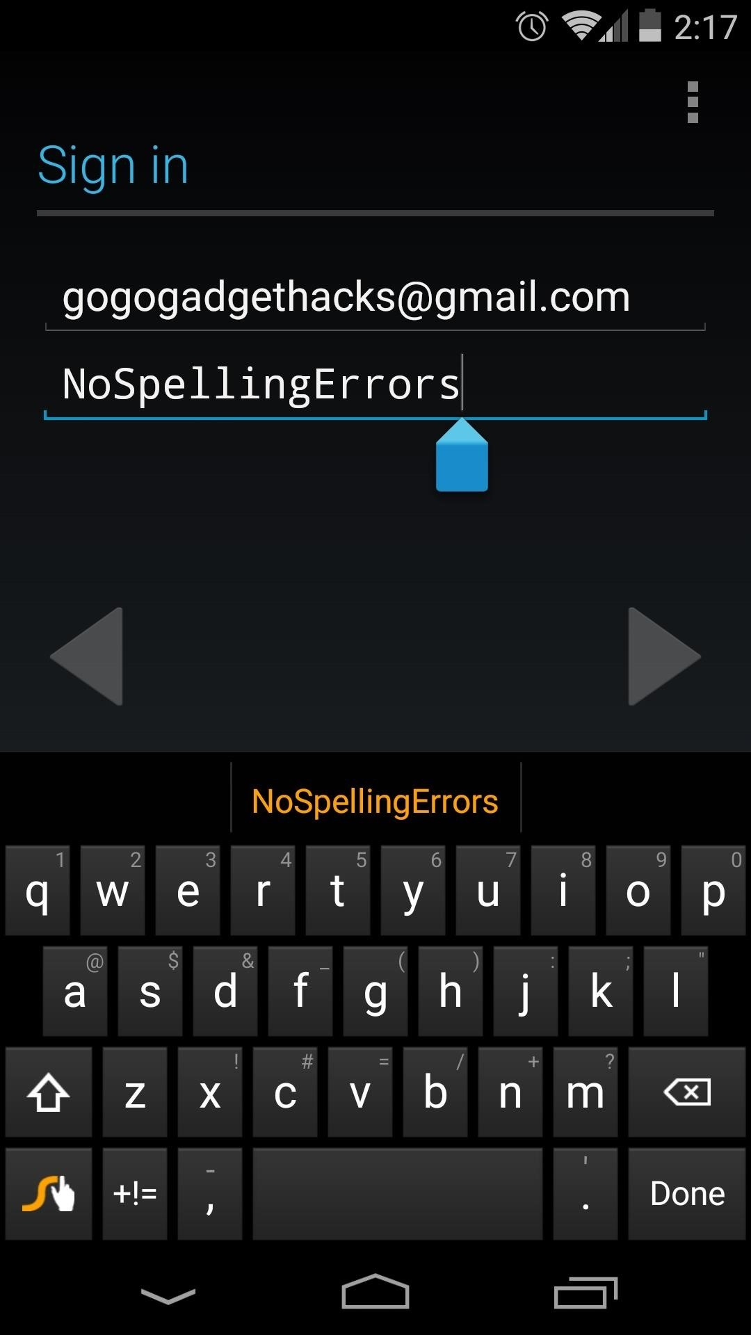 Remove Password Obfuscation from Your Nexus 5 for Easier App Logins