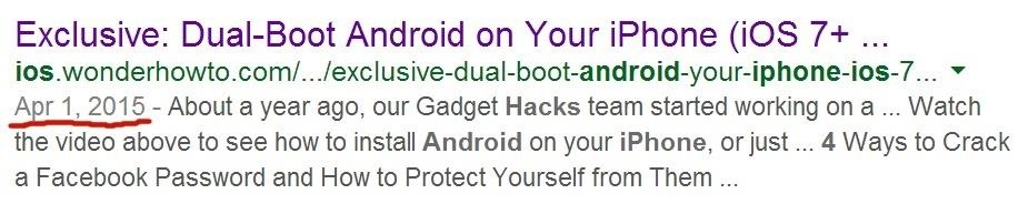 Exclusive: Dual-Boot Android on Your iPhone (iOS 7+) « iOS