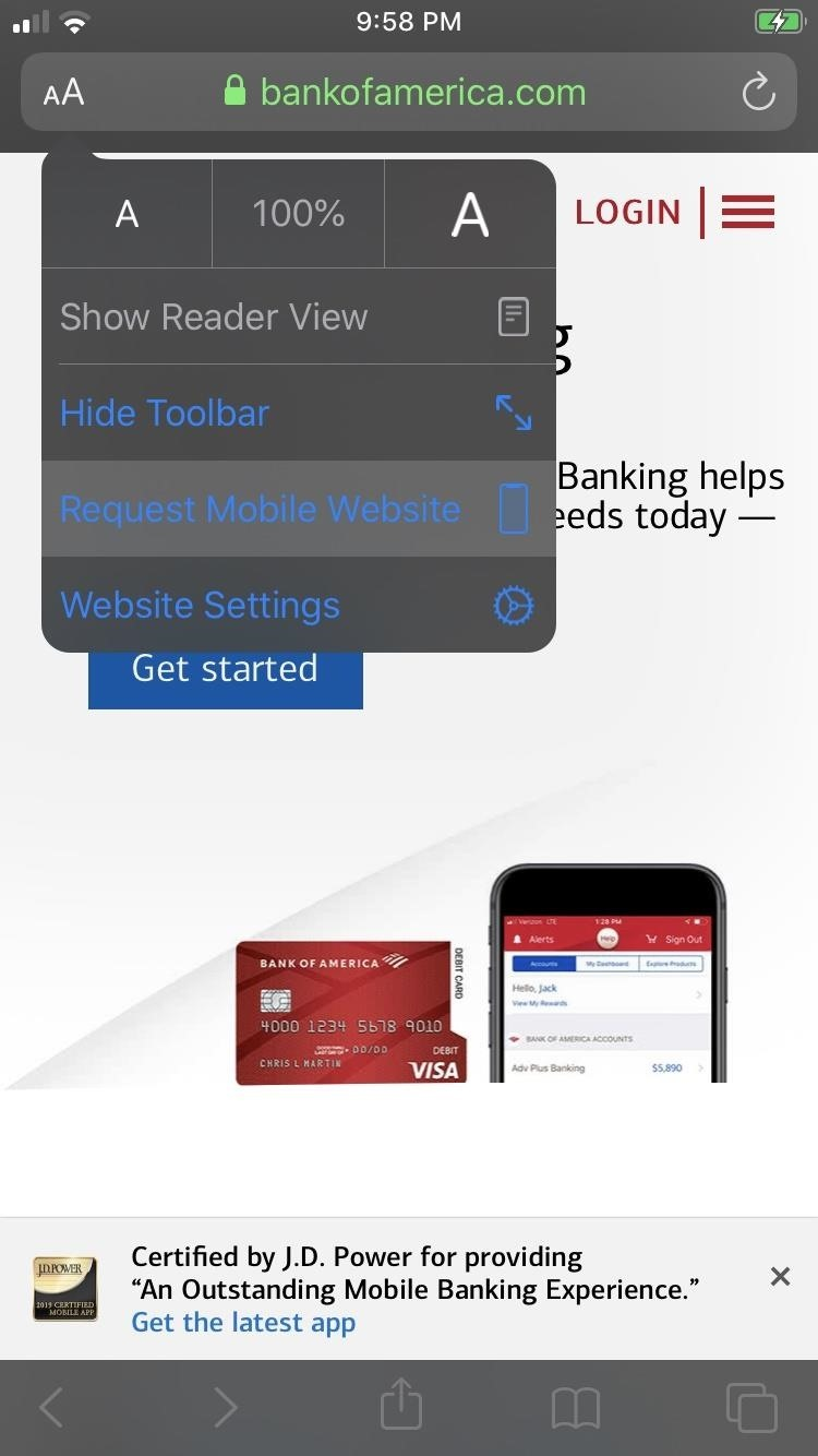 iOS 13 Makes It Easier to Request Desktop & Mobile Sites for Webpages on Your iPhone