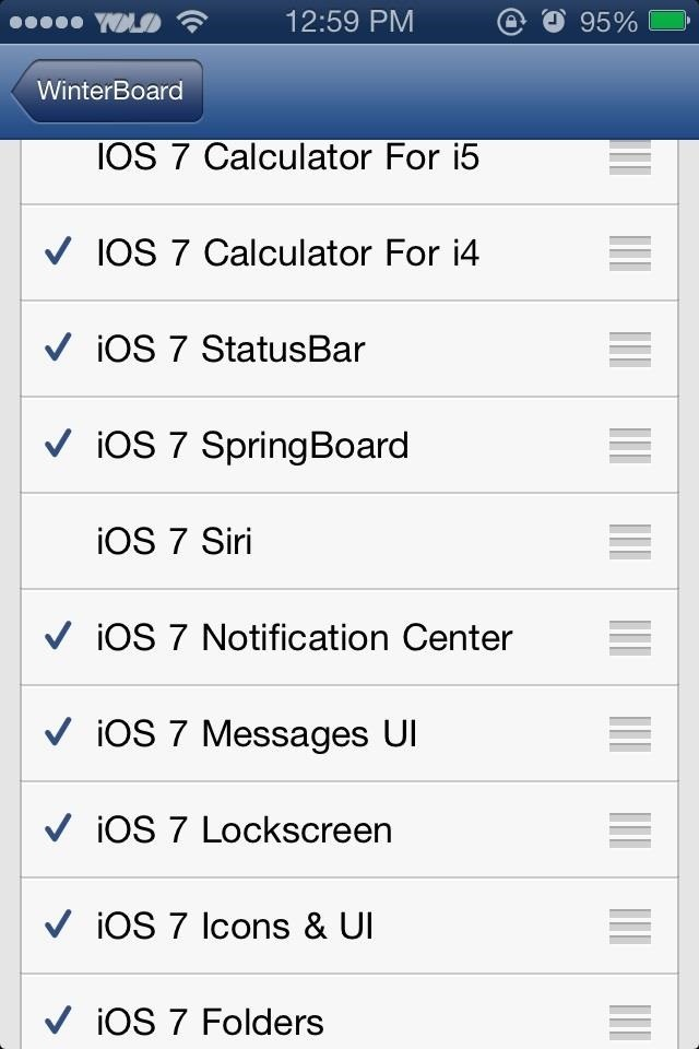 How to Mimic the New iOS 7 Look in iOS 6 on Your Jailbroken