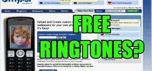 Get free ringtones to your cell phone