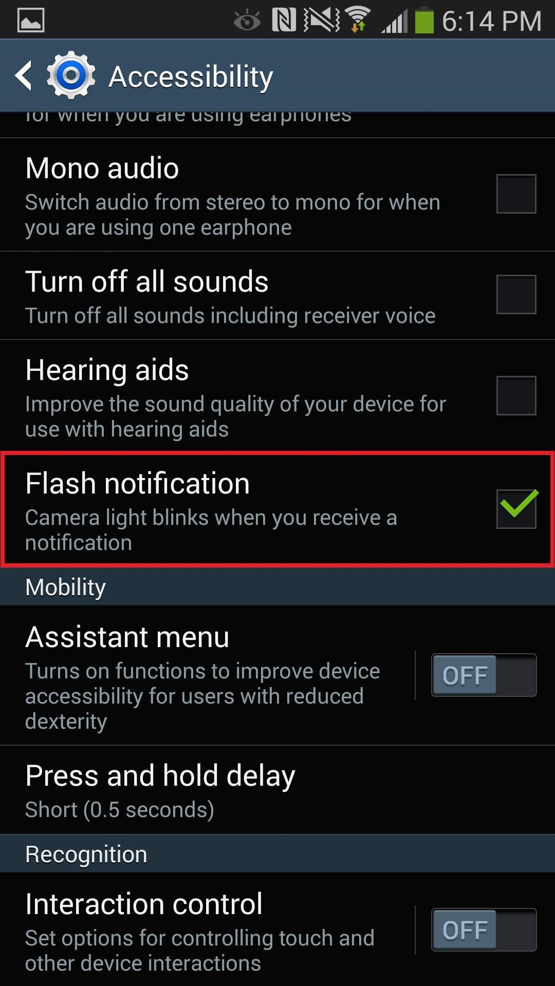 How to Set Flash Alerts for Phone Calls & Texts on Your Samsung Galaxy Note 3