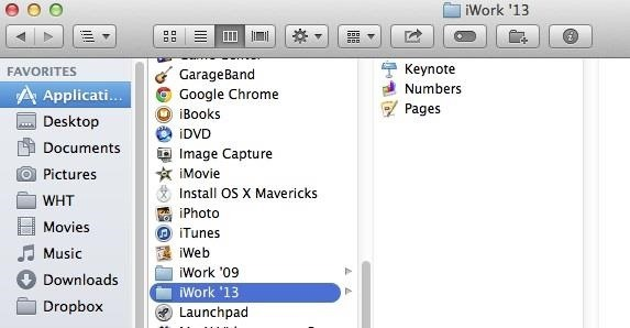 How to Get the New iWork Apps for Free in Mac OS X Mavericks « Mac