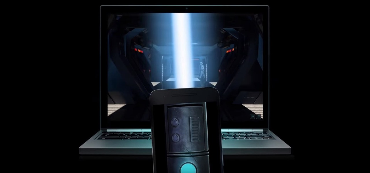 Turn Your Phone into a Lightsaber & Fight Stormtroopers